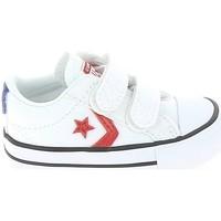 Skor Barn Sneakers Converse Star Player 2V BB Blanc Rouge Vit