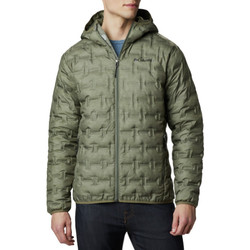 textil Herr Täckjackor Columbia Delta Ridge Down Hooded Jacket Vert
