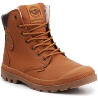 Skor Höga sneakers Palladium Manufacture Sport WPS 72992-251-M brown
