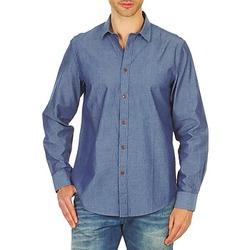 textil Herr Långärmade skjortor Ben Sherman BEMA00490 Blå