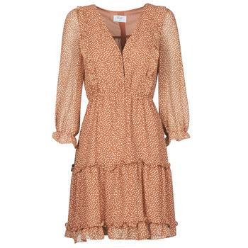 textil Dam Korta klänningar Betty London OBELLA Rostfärgad