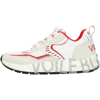 Skor Herr Sneakers Voile Blanche 001201592601 White and red