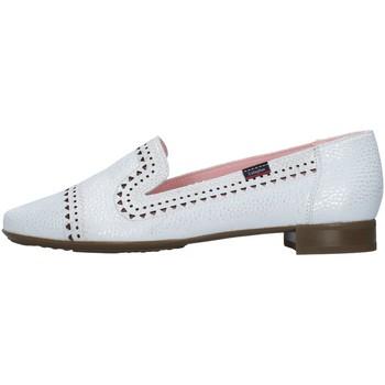 Skor Dam Loafers CallagHan 98961 SILVER