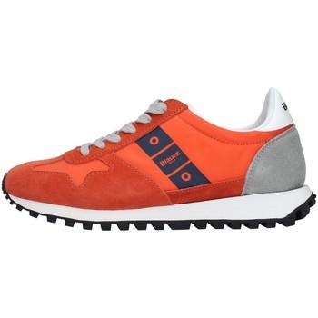 Skor Herr Sneakers Blauer S1DAWSON01/NYS ORANGE