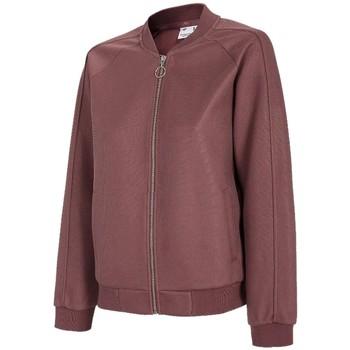textil Dam Sweatjackets 4F Women's Sweatshirt Bordeaux