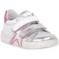 Skor Flickor Sneakers Grunland ARGENTO 88NOON Grigio