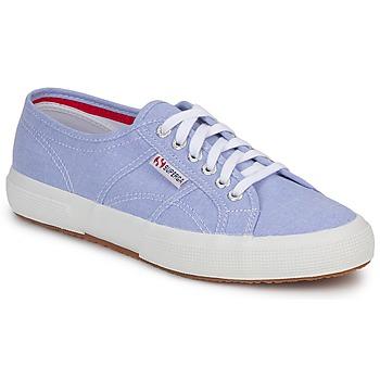Skor Sneakers Superga 2750 COTUSHIRT Blå / Ljus