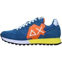 Skor Herr Sneakers Sun68 Z31110 BLUE