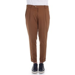 textil Herr Chinos / Carrot jeans Alessandro Dell'acqua AD7134J/G0162EJ Brown