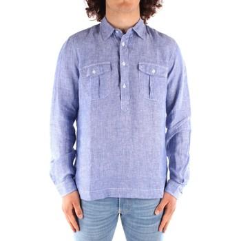 textil Herr Långärmade skjortor Blauer 21SBLUS01216 BLUE