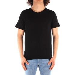 textil Herr T-shirts Blauer 21SBLUM01319 BLACK