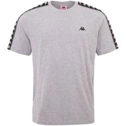 textil Herr T-shirts Kappa Ilyas Gråa