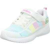 Skor Barn Sneakers Skechers Fresh Delight Vit