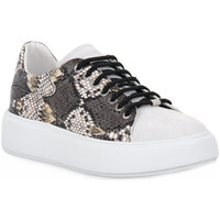 Skor Dam Sneakers Frau NERO NAPPA Nero