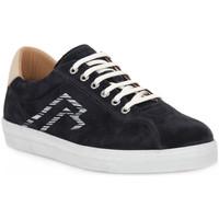 Skor Herr Sneakers Frau AMALFI BLU LATTE Blu