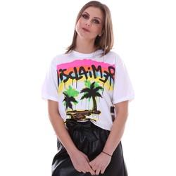 textil Dam T-shirts Disclaimer 21EDS50632 Vit