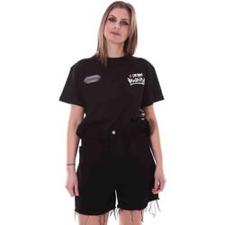 textil Dam T-shirts Disclaimer 21EDS50642 Svart