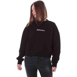 textil Dam Sweatshirts Dickies DK0A4XD1BLK1 Svart