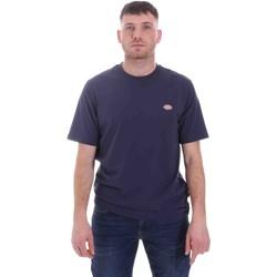 textil Herr T-shirts Dickies DK0A4XDBNV01 Blå