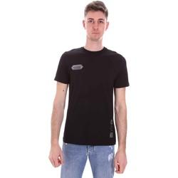 textil Herr T-shirts Disclaimer 21EDS50517 Svart