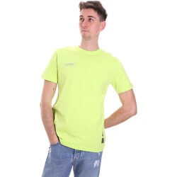 textil Herr T-shirts Disclaimer 21EDS50517 Grön