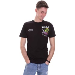 textil Herr T-shirts Disclaimer 21EDS50522 Svart