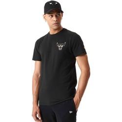textil Herr T-shirts New-Era 12590868 Svart