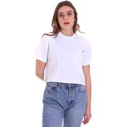 textil Dam T-shirts Dickies DK0A4XDEWHX1 Vit