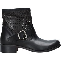Skor Dam Boots Melluso H01400 Svart