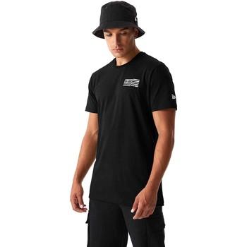 textil Herr T-shirts & Pikétröjor New-Era 12590875 Svart