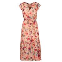 textil Dam Långklänningar Moony Mood  Rosa / Flerfärgad