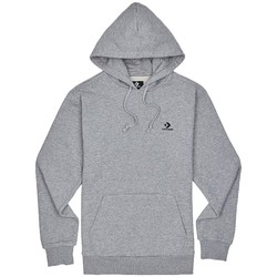 textil Herr Sweatjackets Converse Embroidered PO FT Hoodie Grise
