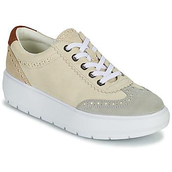 Skor Dam Sneakers Geox KAULA Grå