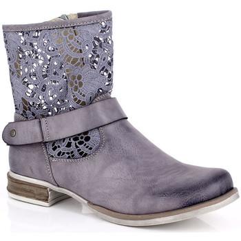 Skor Dam Boots Kimberfeel ANAELLE Grå