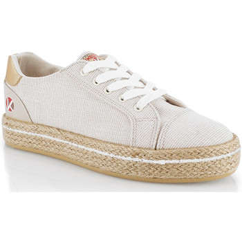 Skor Dam Sneakers Kimberfeel CAMILIA Beige