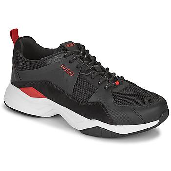 Skor Herr Sneakers HUGO BLOCK RUNN Svart