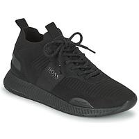 Skor Herr Sneakers BOSS TITANIUM RUNN KNST1 Svart