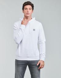 textil Herr Sweatshirts BOSS WETALK Vit