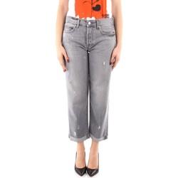 textil Dam Jeans boyfriend Roy Rogers P21RND011G0170313 GREY