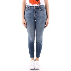 textil Dam Skinny Jeans Roy Rogers P21RND207D4221695 BLUE