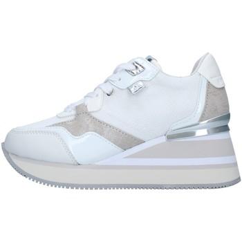Skor Dam Höga sneakers Apepazza S1HIGHNEW07/NYL WHITE