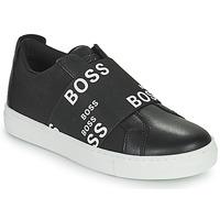 Skor Sneakers BOSS KAMILA Svart / Vit