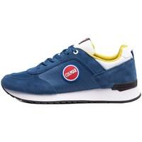 Skor Herr Sneakers Colmar Travis Bold Vit, Blå