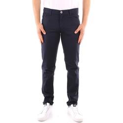 textil Herr 5-ficksbyxor Trussardi 52J00007 1Y000163 NAVY BLUE