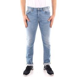 textil Herr Stuprörsjeans Blauer 21SBLUP03402 BLUE