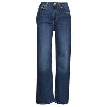 textil Dam Bootcutjeans Pepe jeans LEXA SKY HIGH Blå