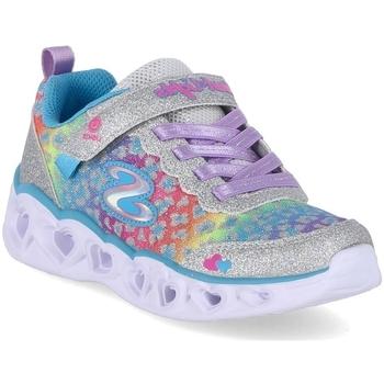 Skor Barn Sneakers Skechers Love Match Silver