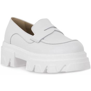 Skor Dam Loafers Priv Lab VITELLO BIANCO Bianco