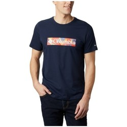 textil Herr T-shirts Columbia M Rapid Ridge Graphic Tee Grenade