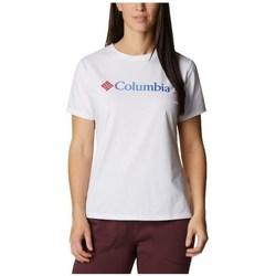 textil Dam T-shirts Columbia Sun Trek W Graphic Tee Vit